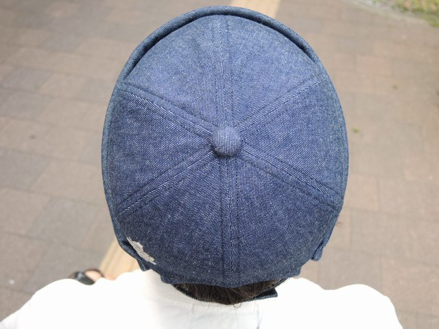 Denim Roll Cap 再入荷☆_b0316864_19080039.jpg