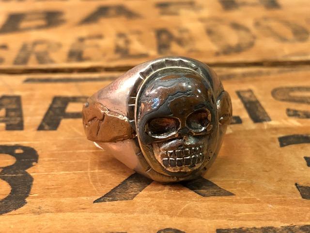 4月25日(水)大阪店アクセサリー&ヴィンテージ入荷!!#4 Skull&FreeMason編!MexicanRing!!_c0078587_12322076.jpg