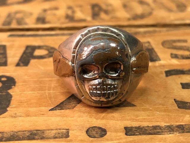 4月25日(水)大阪店アクセサリー&ヴィンテージ入荷!!#4 Skull&FreeMason編!MexicanRing!!_c0078587_12391164.jpg