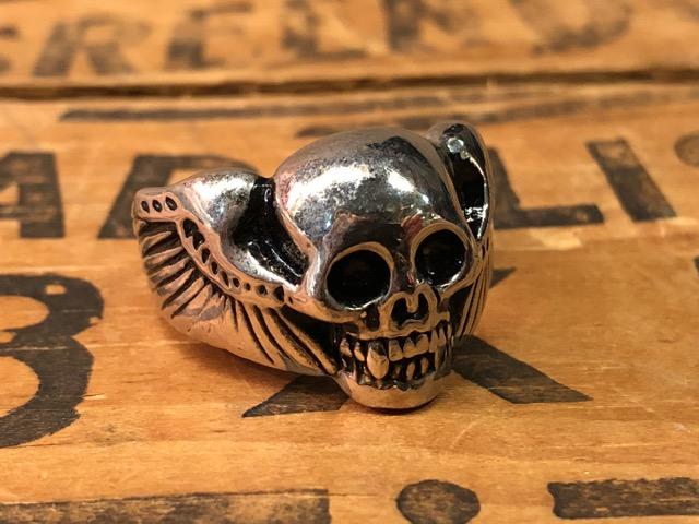 4月25日(水)大阪店アクセサリー&ヴィンテージ入荷!!#4 Skull&FreeMason編!MexicanRing!!_c0078587_12412222.jpg