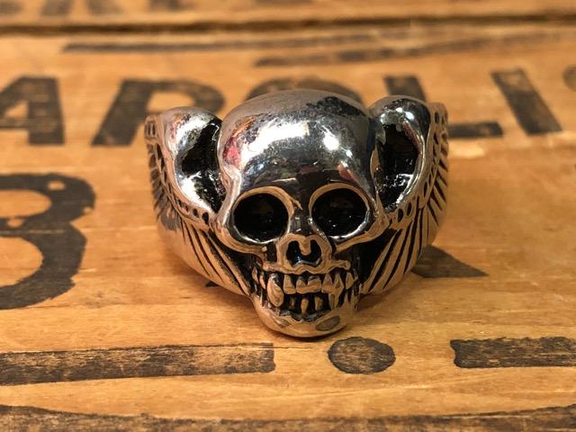 4月25日(水)大阪店アクセサリー&ヴィンテージ入荷!!#4 Skull&FreeMason編!MexicanRing!!_c0078587_1241295.jpg