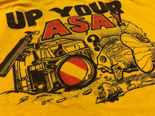 4月25日(水)大阪店アクセサリー&ヴィンテージ入荷!!#5  VintageT-Shirt編Part1!1970\'s!!_c0078587_18192335.jpg