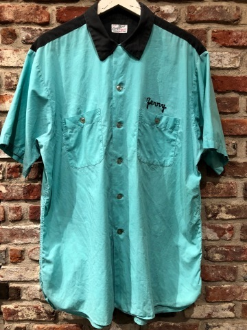 """1950s \"""" The conqueror - BOWLING SHIRTS - \"""" 100% cotton TWO-TONE VINTAGE TRUCKER SHIRTS ._d0172088_17581593.jpg"""