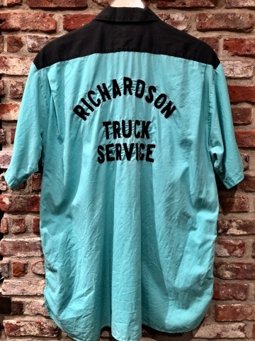 """1950s \"""" The conqueror - BOWLING SHIRTS - \"""" 100% cotton TWO-TONE VINTAGE TRUCKER SHIRTS ._d0172088_17591516.jpg"""