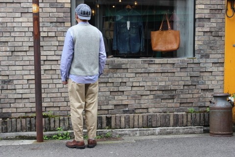 "WORKERS 涼しくラクに穿ける \""1-Tack Trousers\"" ご紹介_f0191324_08243806.jpg"