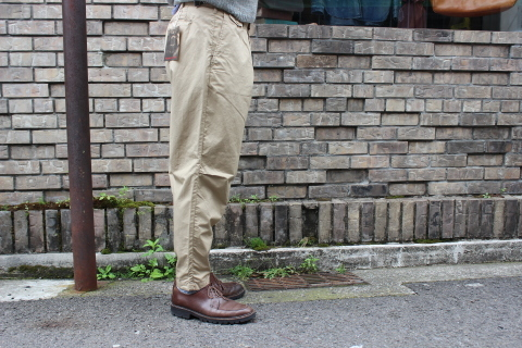 "WORKERS 涼しくラクに穿ける \""1-Tack Trousers\"" ご紹介_f0191324_08250426.jpg"
