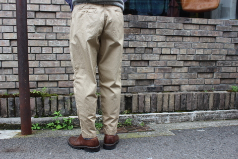 "WORKERS 涼しくラクに穿ける \""1-Tack Trousers\"" ご紹介_f0191324_08251499.jpg"