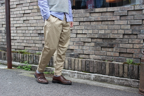 "WORKERS 涼しくラクに穿ける \""1-Tack Trousers\"" ご紹介_f0191324_08252506.jpg"