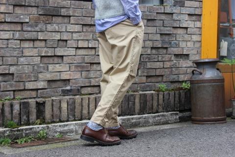 "WORKERS 涼しくラクに穿ける \""1-Tack Trousers\"" ご紹介_f0191324_08253634.jpg"