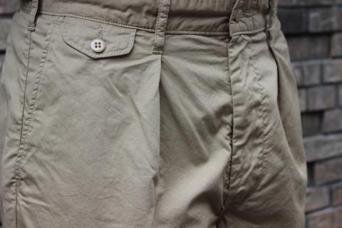 "WORKERS 涼しくラクに穿ける \""1-Tack Trousers\"" ご紹介_f0191324_08254630.jpg"