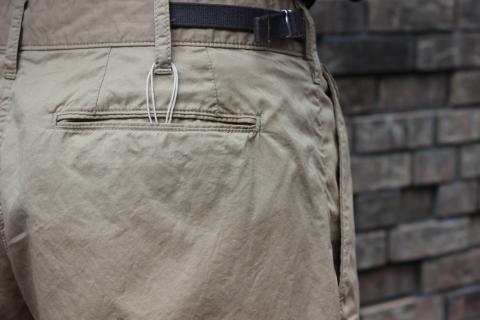 "WORKERS 涼しくラクに穿ける \""1-Tack Trousers\"" ご紹介_f0191324_08255670.jpg"