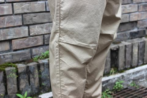 "WORKERS 涼しくラクに穿ける \""1-Tack Trousers\"" ご紹介_f0191324_08260673.jpg"