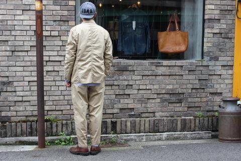 "WORKERS 涼しくラクに穿ける \""1-Tack Trousers\"" ご紹介_f0191324_08263684.jpg"