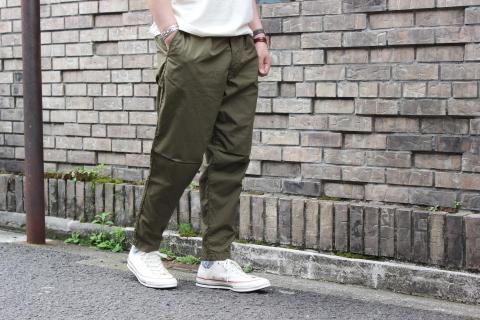 "WORKERS 涼しくラクに穿ける \""1-Tack Trousers\"" ご紹介_f0191324_08281652.jpg"