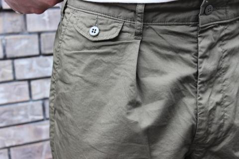 "WORKERS 涼しくラクに穿ける \""1-Tack Trousers\"" ご紹介_f0191324_08285804.jpg"