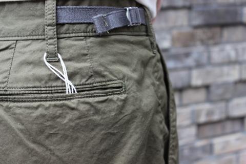 "WORKERS 涼しくラクに穿ける \""1-Tack Trousers\"" ご紹介_f0191324_08290852.jpg"