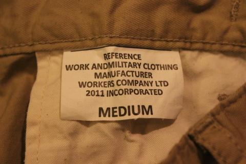 "WORKERS 涼しくラクに穿ける \""1-Tack Trousers\"" ご紹介_f0191324_09102646.jpg"