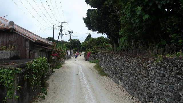 竹富島観光(2) 水牛車でのんびり観光、そして星砂の浜_c0011649_13123829.jpg