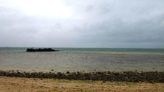 竹富島観光(2) 水牛車でのんびり観光、そして星砂の浜_c0011649_13282046.jpg