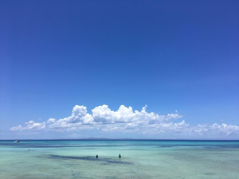 バンタヤン島の空と海_f0210164_16491750.jpg