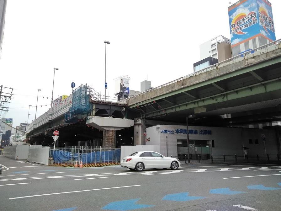 16号大阪港線 阿波座拡幅部 5月28日開放_c0340867_22205644.jpg