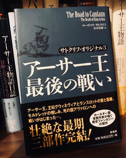 アーサー王伝説おすすめ書籍(入門編)_a0342172_17551979.jpg