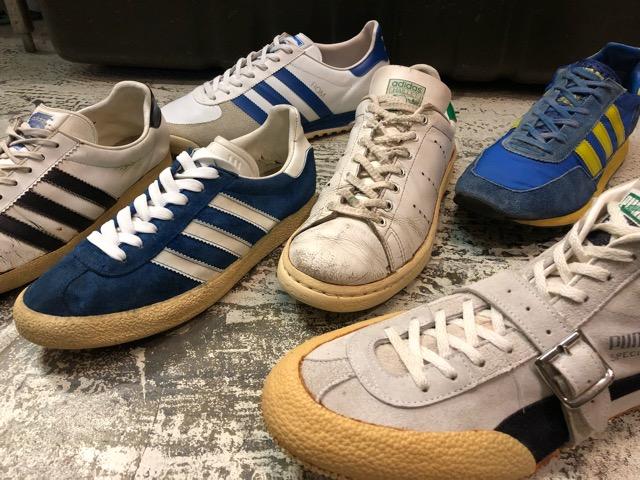 4月25日(水)大阪店アクセサリー&ヴィンテージ入荷!!#8  VintageSneaker編!adidas&PUMA!!_c0078587_2573225.jpg