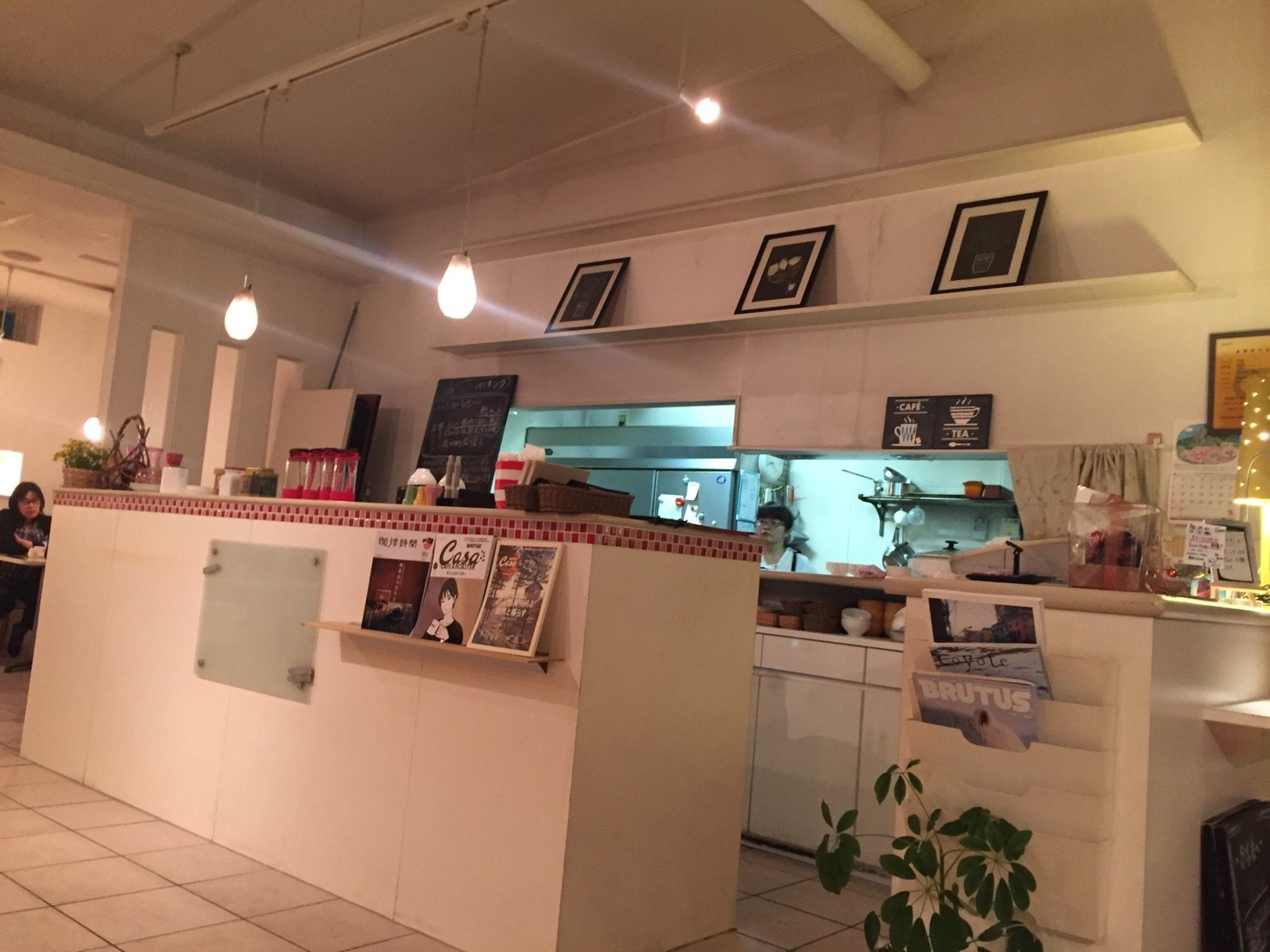 cafe coeur  ディナー_e0115904_22412275.jpg