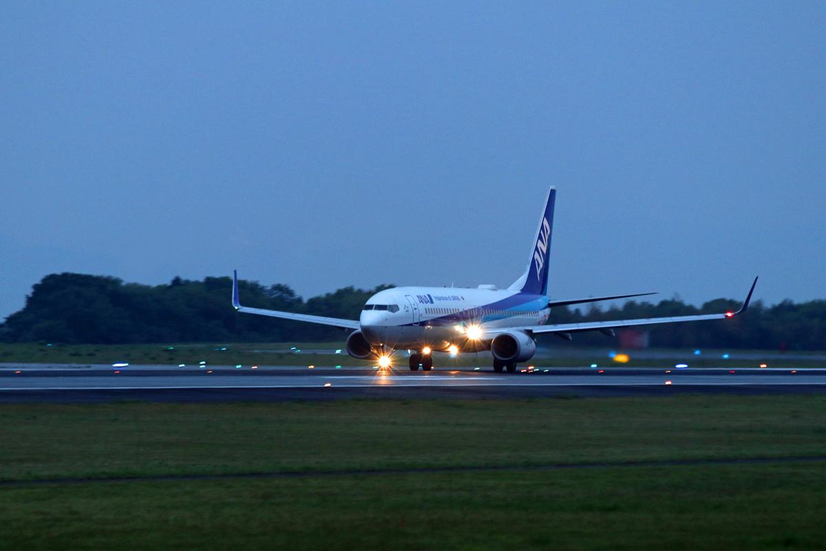 ASO KUMMOTO AIRPORT IN BLUE。 _b0044115_08012223.jpg