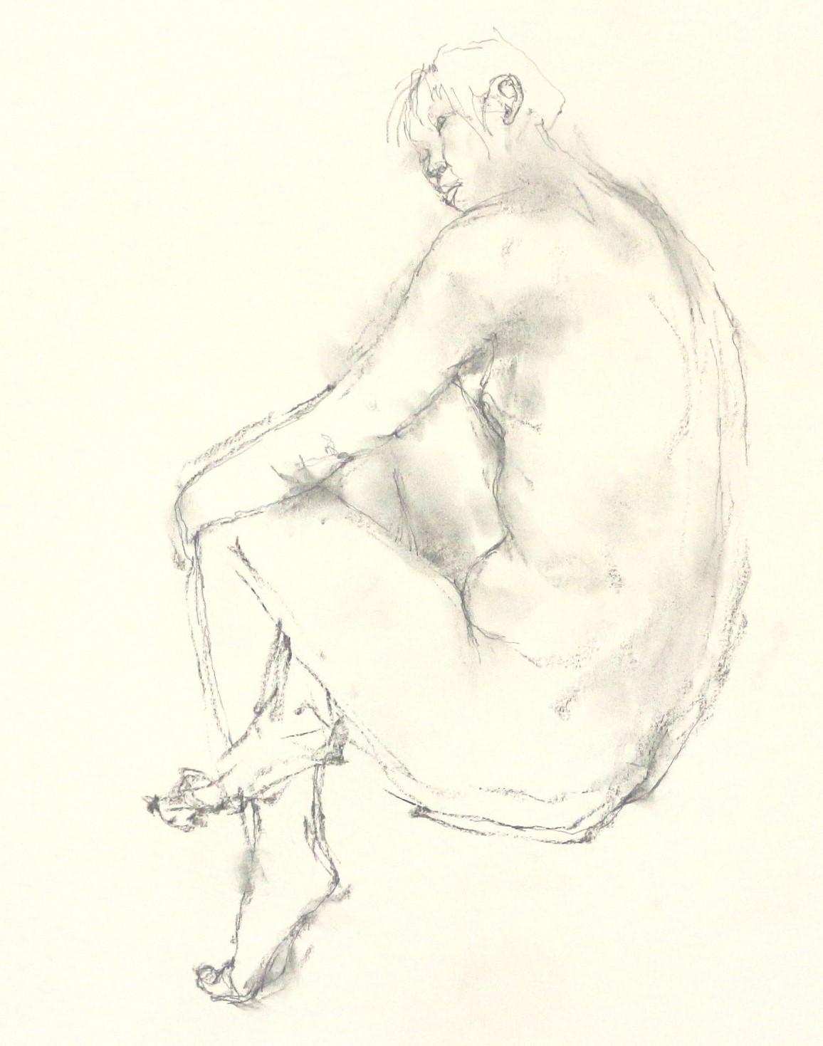 《 「四月卯月裸婦素描」3 》_f0159856_08530649.jpg