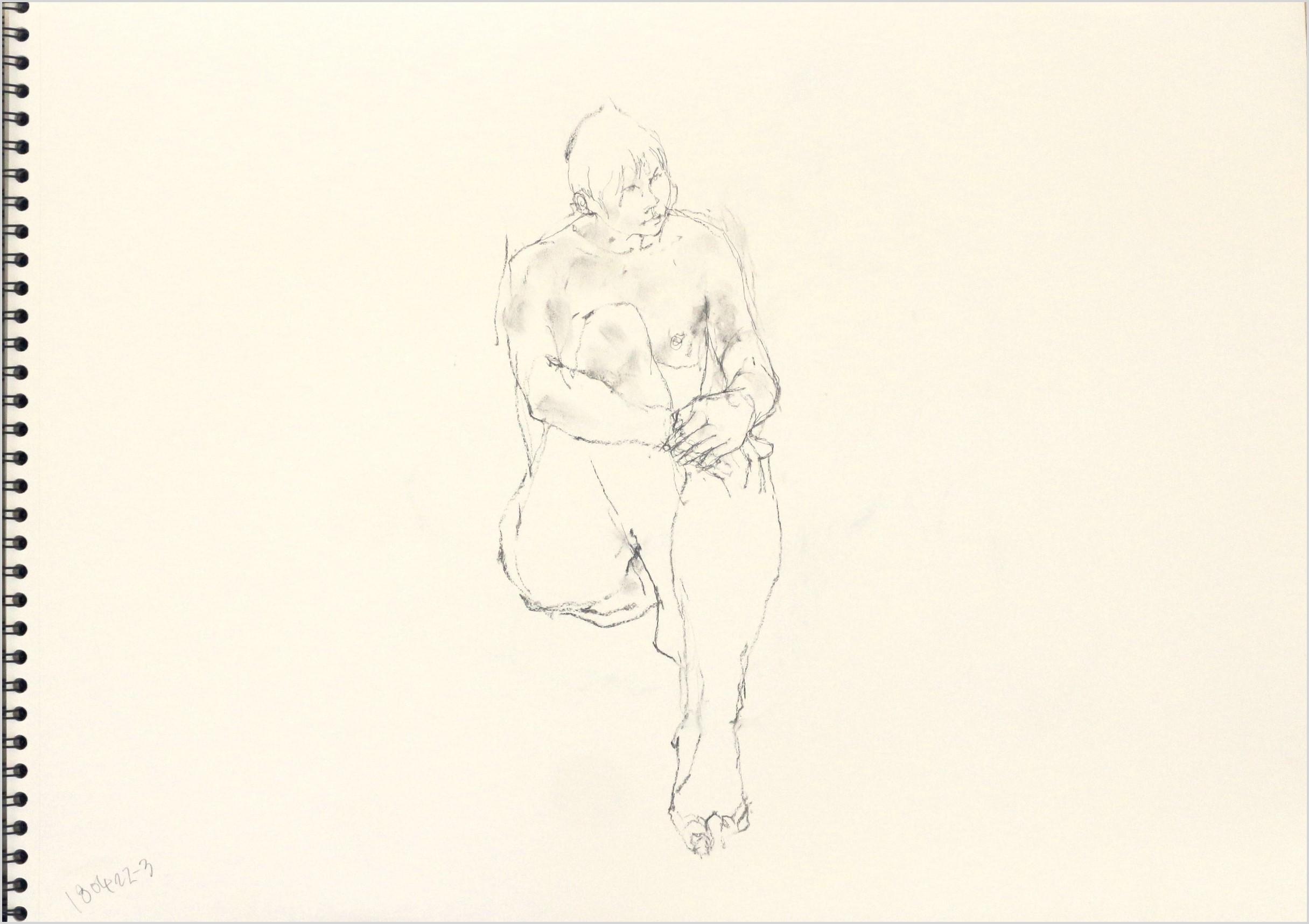 《 「四月卯月裸婦素描」4 》_f0159856_08591343.jpg