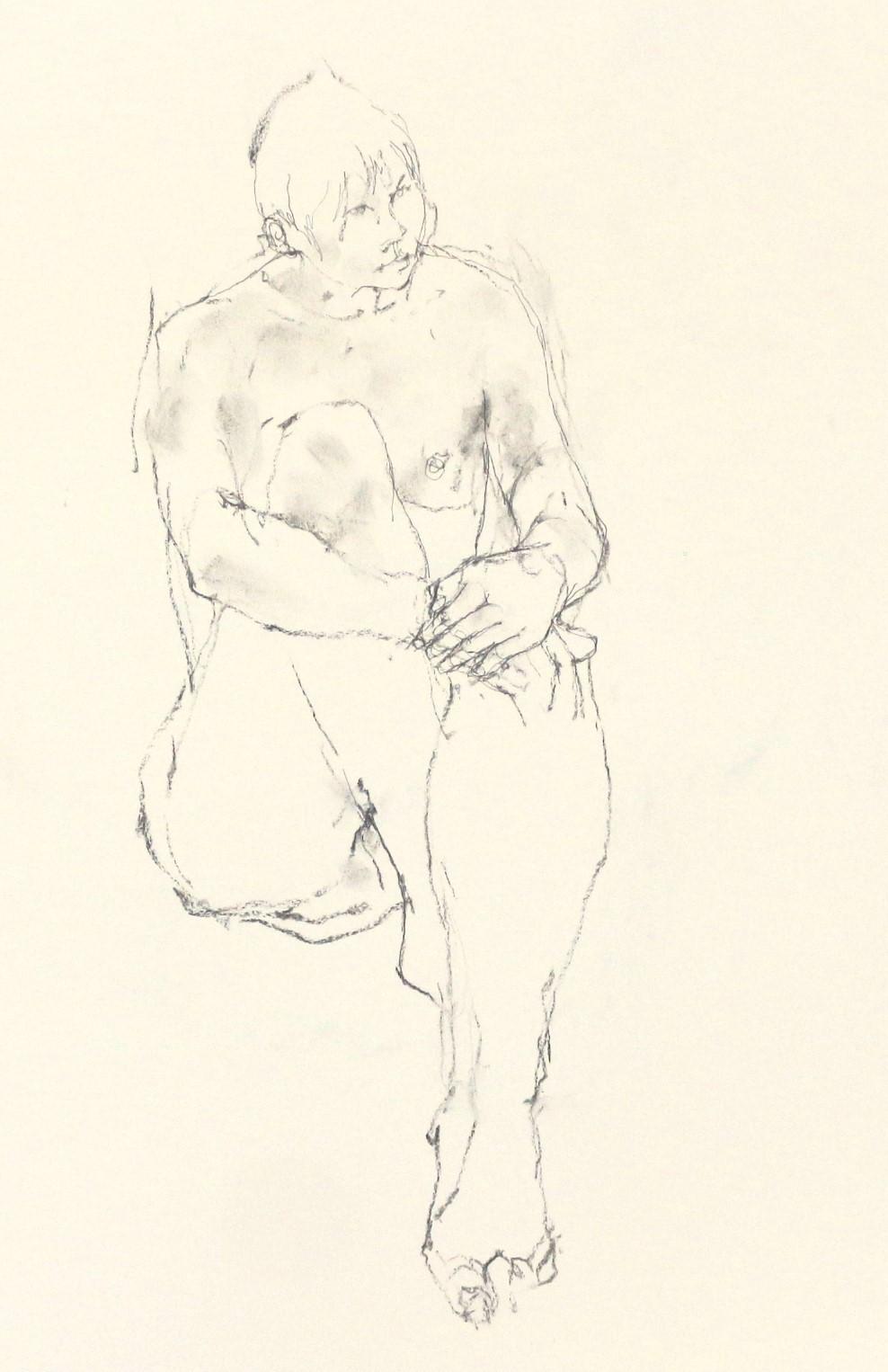 《 「四月卯月裸婦素描」4 》_f0159856_08592307.jpg