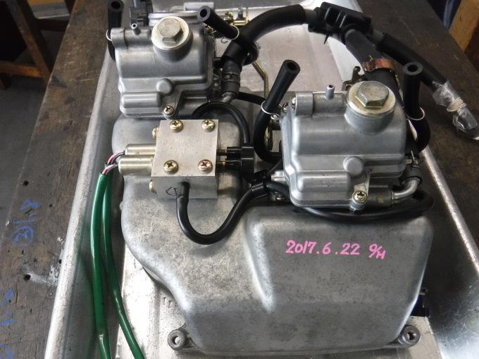 RGVΓ250SPのエンジン始動っ♪・・・放置は猛毒ですな。_a0163159_21572871.jpg
