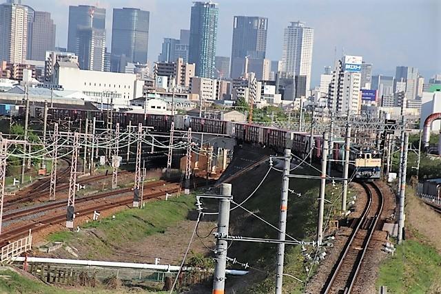 藤田八束の鉄度写真@貨物列車を激写、貨物列車金太郎、桃太郎、EF65を追っかけてカメラでキャッチ・・・嬉しい瞬間_d0181492_15134495.jpg