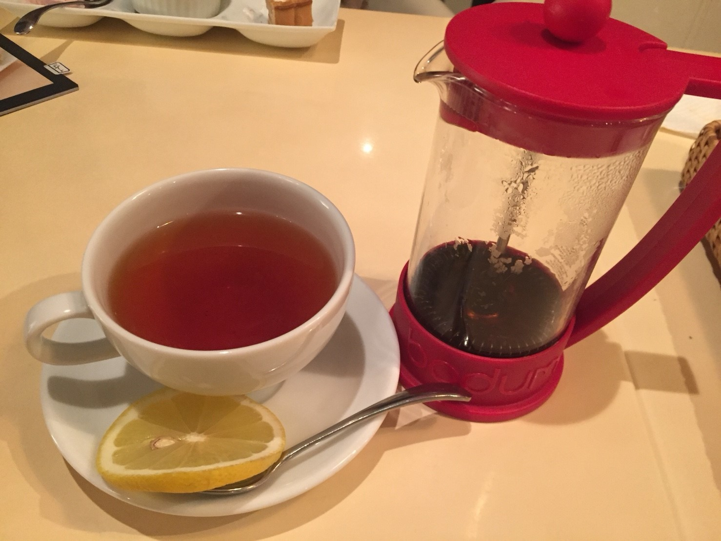 cafe coeur  ディナー_e0115904_00250090.jpg