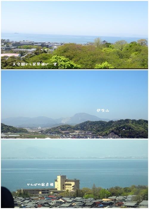 琵琶湖周辺 新緑の旅(2)(琵琶湖竹生島・彦根城)_c0051105_17415187.jpg