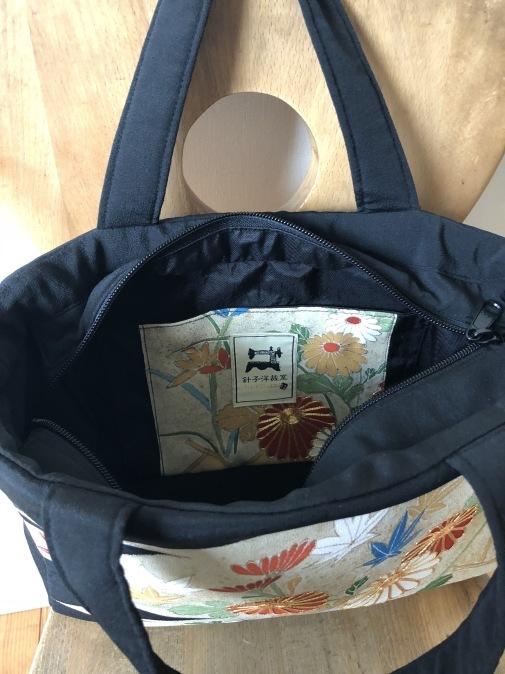 着物リメイク・留袖からbagにリメイク_d0127925_13084555.jpg