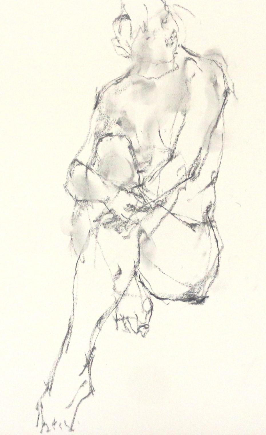 《 「四月卯月裸婦素描」 Ⅴ  》_f0159856_21272425.jpg