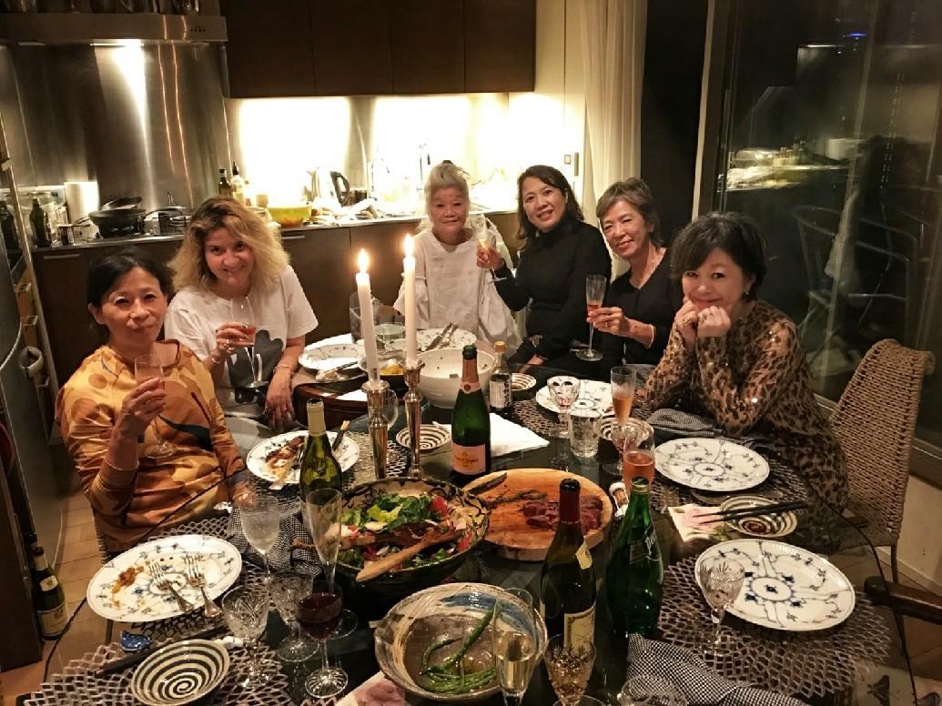 素敵なJUNKOファミリーと素敵なご飯会♪_d0339889_16384962.jpg