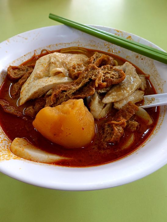 シンガポールなカレーヌードル@Heng Kee Curry Chicken Bee Hoon Mee_e0368107_14310747.jpg