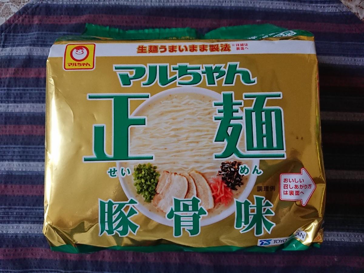 4/27  マルちゃん正麺豚骨味 5パック_b0042308_14094463.jpg