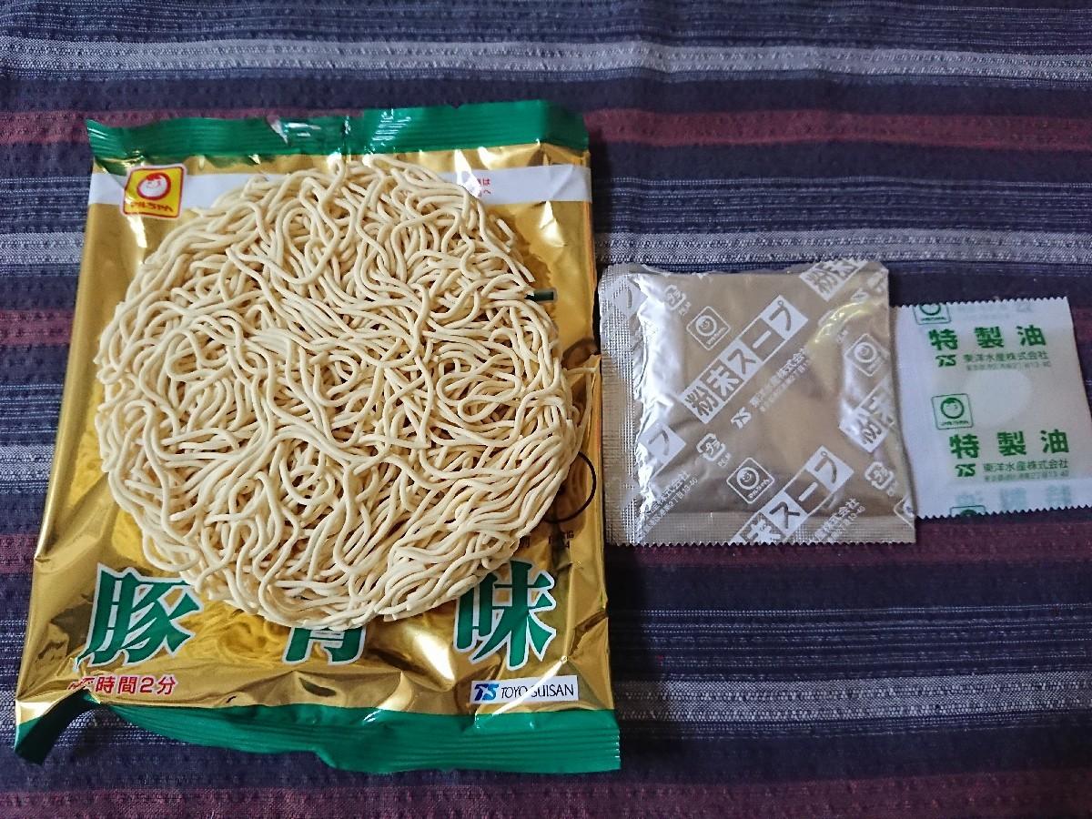 4/27  マルちゃん正麺豚骨味 5パック_b0042308_14094584.jpg