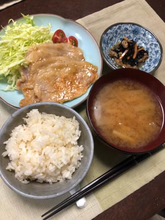 豚の生姜焼き_d0235108_22065791.jpg