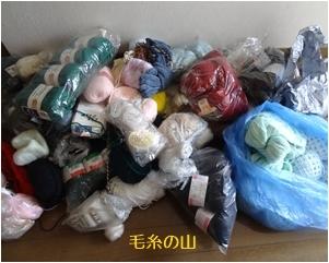 収納の見直し 毛糸の収納 & 紫陽花_a0084343_11480090.jpg