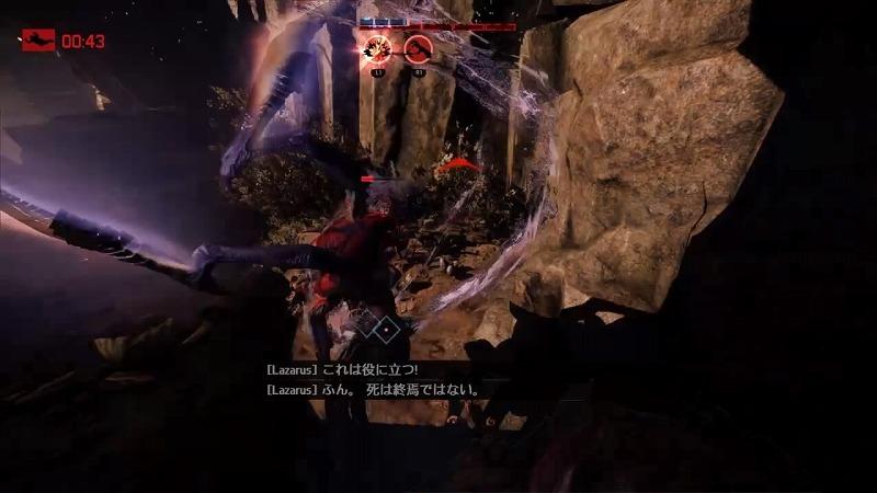 ゲーム「EVOLVE Wraith(Savage skin)でハンター惨殺(ハンター側有利設定」_b0362459_21172091.jpg