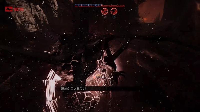 ゲーム「EVOLVE Wraith(Savage skin)でハンター惨殺(ハンター側有利設定」_b0362459_21293009.jpg