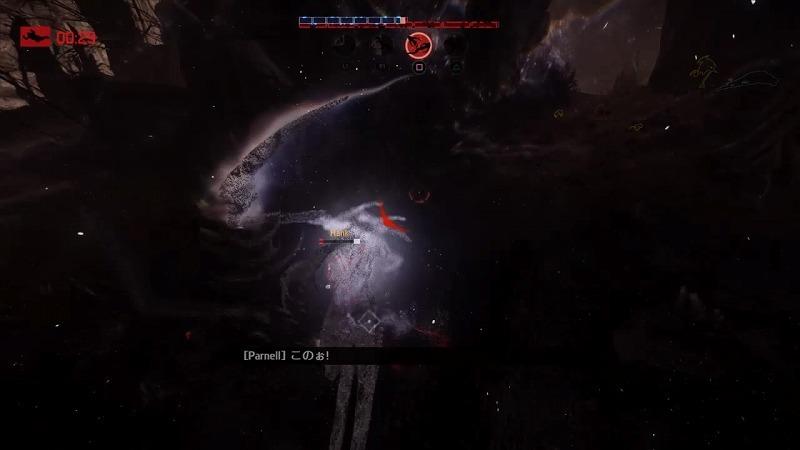 ゲーム「EVOLVE Wraith(Savage skin)でハンター惨殺(ハンター側有利設定」_b0362459_21303704.jpg