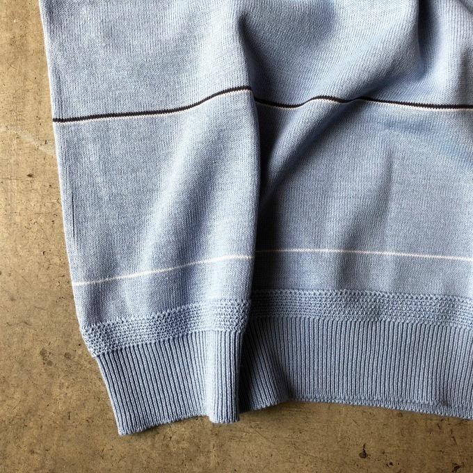 STILL BY HAND ニットボーダーTシャツ_d0334060_14524525.jpg