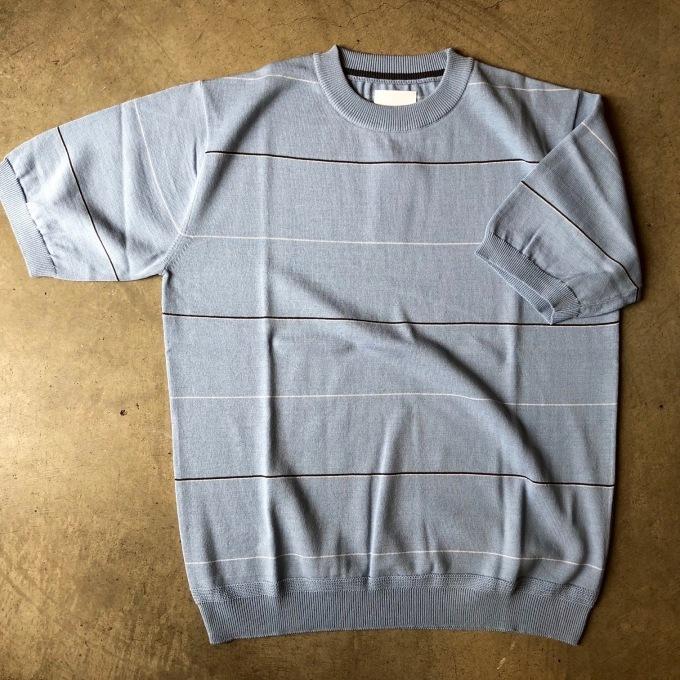 STILL BY HAND ニットボーダーTシャツ_d0334060_14524597.jpg