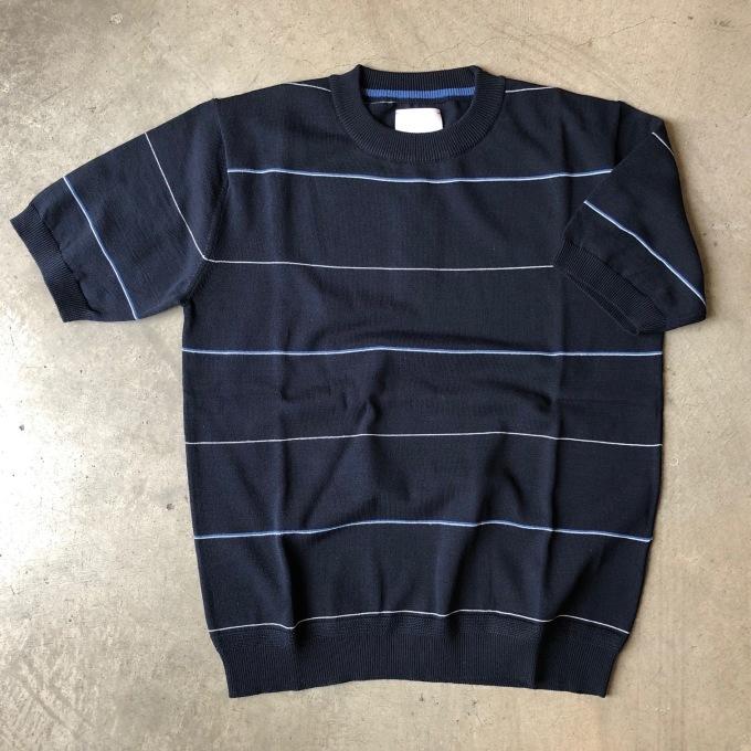 STILL BY HAND ニットボーダーTシャツ_d0334060_14524648.jpg